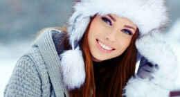 Какой макияж в моде зимой?
